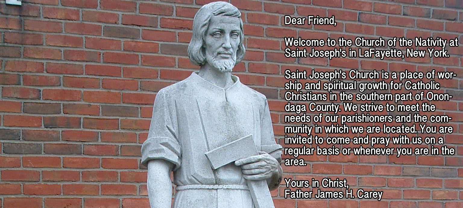 Welcome to Saint Joseph