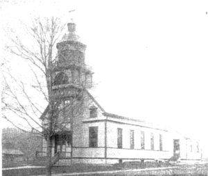 St. Joseph's Roman Catholic Church in 1909. Photographed by H.A. Myer.
